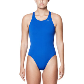 Nike Swim Poly Core Solid Fast Back Intero Donna, game royal